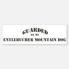 Entlebucher Mountain Dog: Gua Bumper Bumper Bumper Sticker