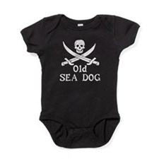 Old Sea Dog Baby Bodysuit