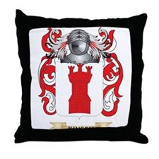 Kinsey Coat of Arms (Family Crest) Throw Pillow