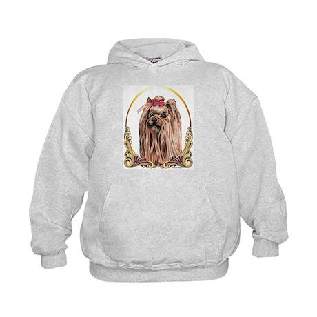 Yorkshire Terrier Holiday/Xmas Kids Hoodie
