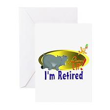 Retiree Fun. Greeting Cards (Pk of 10)