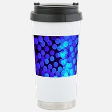 blue dots ii Stainless Steel Travel Mug