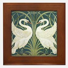 Swan & Rush Framed Tile