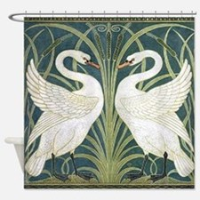 Swan & Rush Shower Curtain