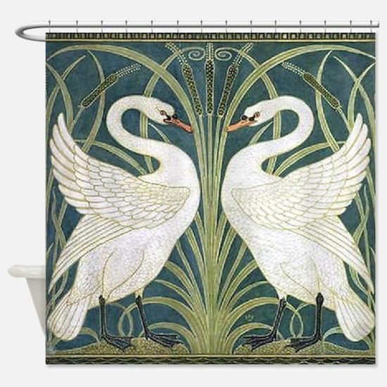 Swan & Rush Shower Curtain