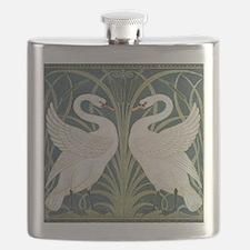 Swan & Rush Flask