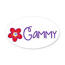 My Fun Gammy Oval Car Magnet