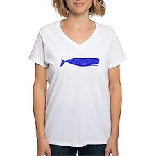Blue Sperm Whale T-Shirt