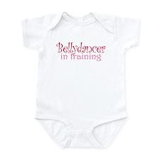 Belly dancer in training: Infant Bodysuit