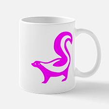 Pink Skunk Small Mug