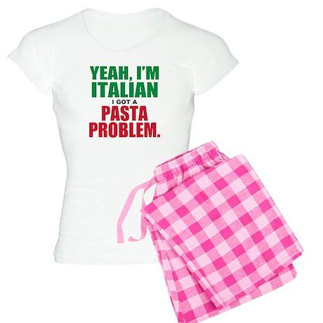 Italian Food Women's Light Pajamas