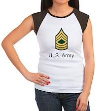 ArmyMasterSergeant18Hwi Women's Cap Sleeve T-Shirt