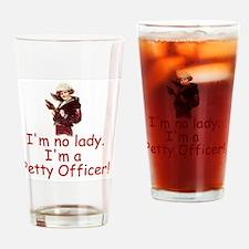 NavyImNoLadyImAPO1.gif Drinking Glass