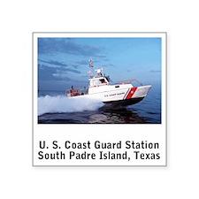 "CoastGuardPatchCGSTASouthPa Square Sticker 3"" x 3"""