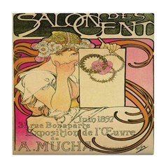 Salon des Cent Tile Coaster