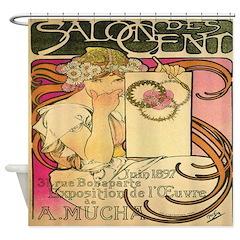 Salon des Cent Shower Curtain