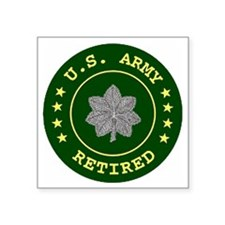 "ArmyRetiredLieutentantColon Square Sticker 3"" x 3"""