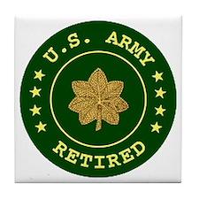 armyretiredmajor.gif Tile Coaster