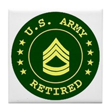ArmyRetiredSergeantFirstClass.gif Tile Coaster