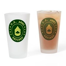 ArmyRetiredSergeantFirstClass.gif Drinking Glass