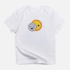 Cute Kawaii 2017 Solar Eclipse Cartoon T-Shirt