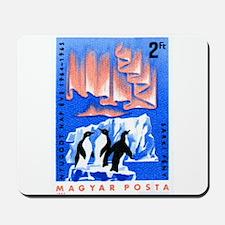 1965 Hungary Aurora Borealis Penguins Stamp Mousep