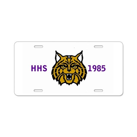 HammondHighSchool1985CapWil Aluminum License Plate