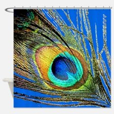 Peacock Feather Eye Shower Curtain
