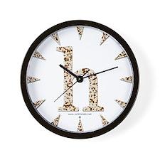 Tortoise Shell h Wall Clock