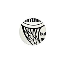 Nothing But Net Mini Button