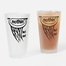 Nothing But Net Drinking Glass