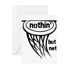 Nothing But Net Greeting Card
