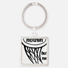 Nothing But Net Square Keychain