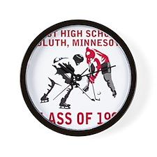 dulutheasthigh1998hockeyfaceoff.gif Wall Clock
