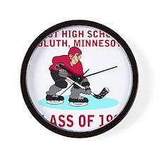 dulutheasthigh1998hockeyguy.gif Wall Clock