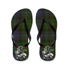 Smith Tartan Unicorn Flip Flops