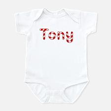 Tony - Candy Cane Infant Bodysuit