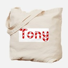 Tony - Candy Cane Tote Bag