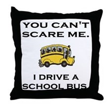 AdobeIDriveASchoolBus.gif Throw Pillow