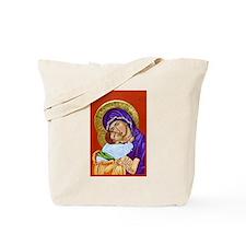 Theotokos and Christ Emmanuel Tote Bag