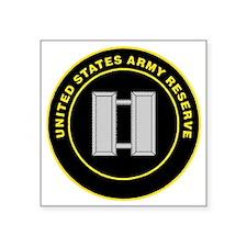 """ArmyReserveRingCaptain.gif Square Sticker 3"""" x 3"""""""