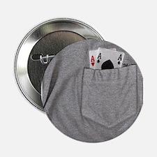 "Pocket Aces 2.25"" Button (10 pack)"