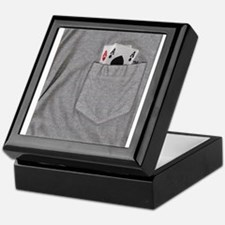 Pocket Aces Keepsake Box