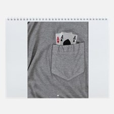 Pocket Aces Wall Calendar