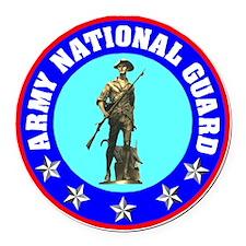 armynationalguardseal.gif Round Car Magnet