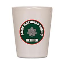 armynationalguardretiredlieutenantcolon Shot Glass
