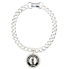 armynationalguardveteran Charm Bracelet, One Charm