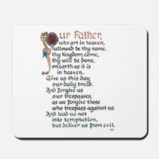 Lords Prayer 1 Mousepad