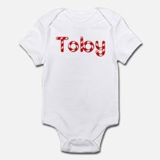 Toby - Candy Cane Infant Bodysuit