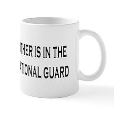 ArmyNationalGuardBumperStickerMyBrother Small Mug